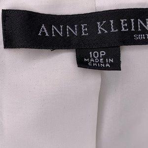 Anne Klein Jackets & Coats - Anne Klein Bazaar Platinum Trench Coat Pantsuit